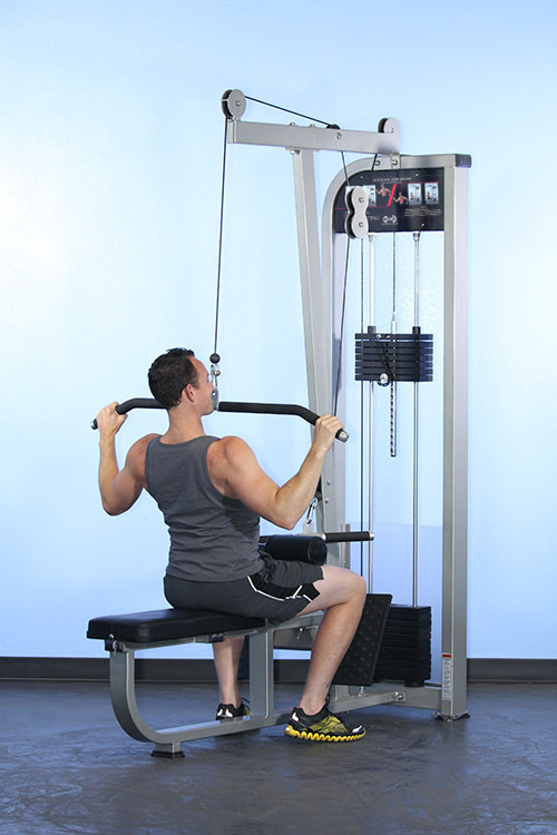 Lat low row combo machine muscle d fitness