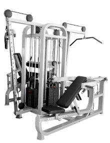 Compact 4 stack compact multi-gym