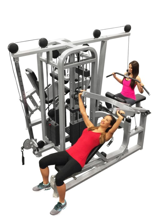 The compact stack multi gym muscle d fitness
