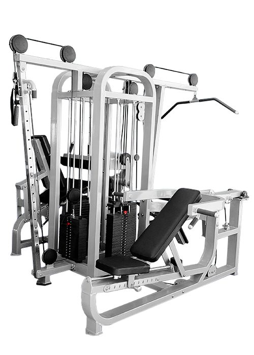 Multi station gym equipment muscle d fitness