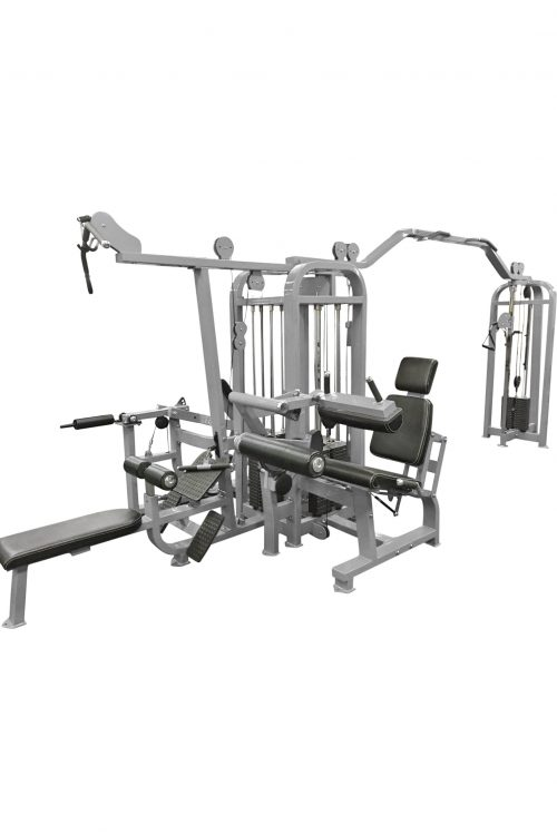 Compact 5 stack multi-gym