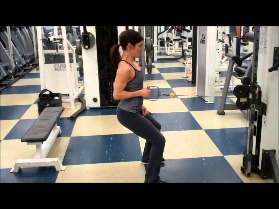 cable single arm row exercise