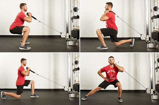 functional trainer exercises with examples