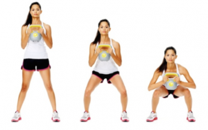 squat pulse glutes exercises